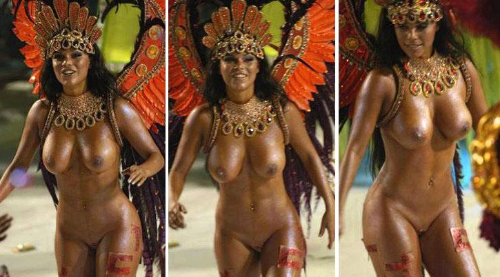 Голые женщины на бразильском карнавале фото 553-439